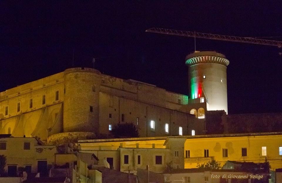 veduta del Castello Angioino Aragonese