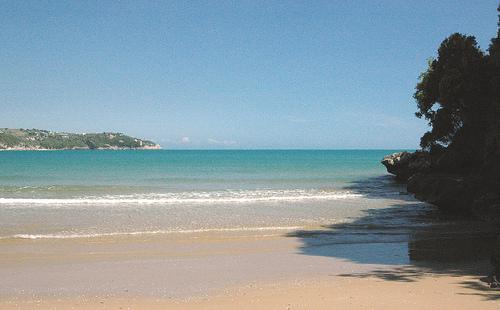 veduta della spiaggia di San Vito